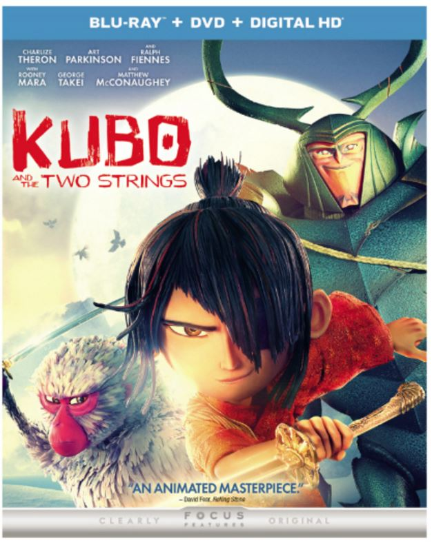 kubo and the two strings combo pack