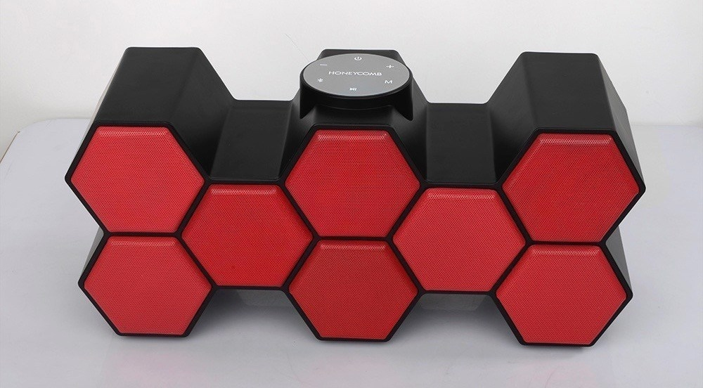 honeycomb bluetooth speaker giveaway