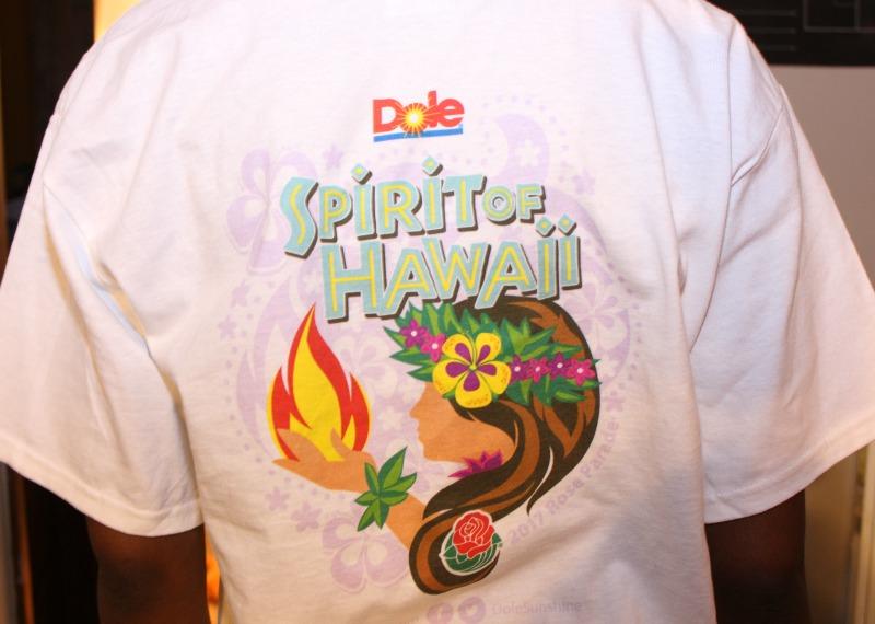 dole spirit of hawaii t shirt