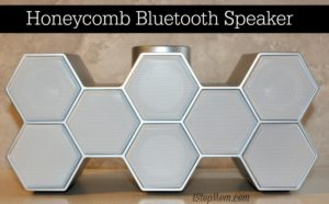 Honeycomb Portable Bluetooth Speaker Review and Giveaway