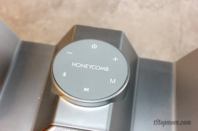 honeycomb bluetooth speaker review