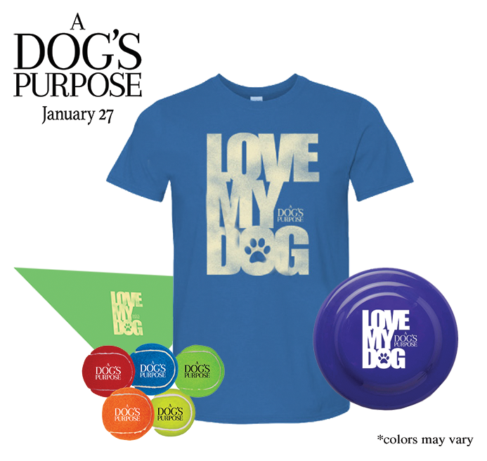 a dogs purpose prize