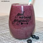 blueberry pineapple oatmeal smoothie