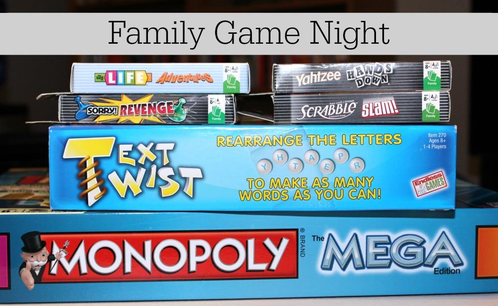 1stopmom family game night