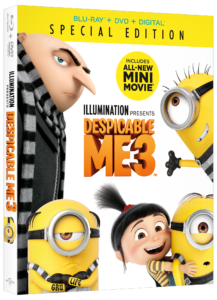 Despicable Me 3 Special Edition Is Now In Stores!