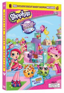 Shopkins World Vacation Blu-ray/ DVD In Stores 10/17