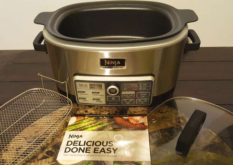 ninja cooking system with auto iq