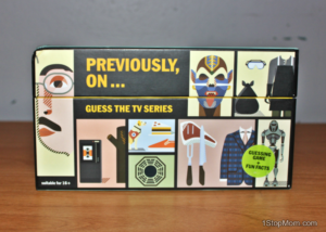 Previously On: Guess The TV Series Game Review and Giveaway