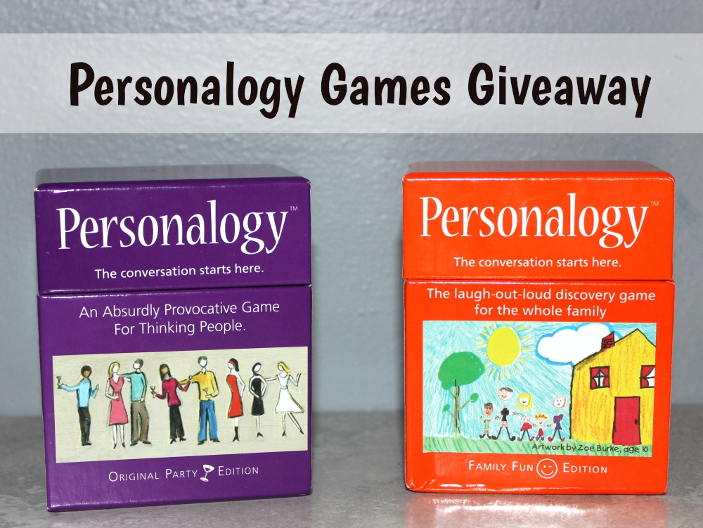 Personalogy Games