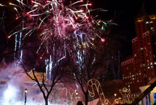milwaukee fireworks christmas