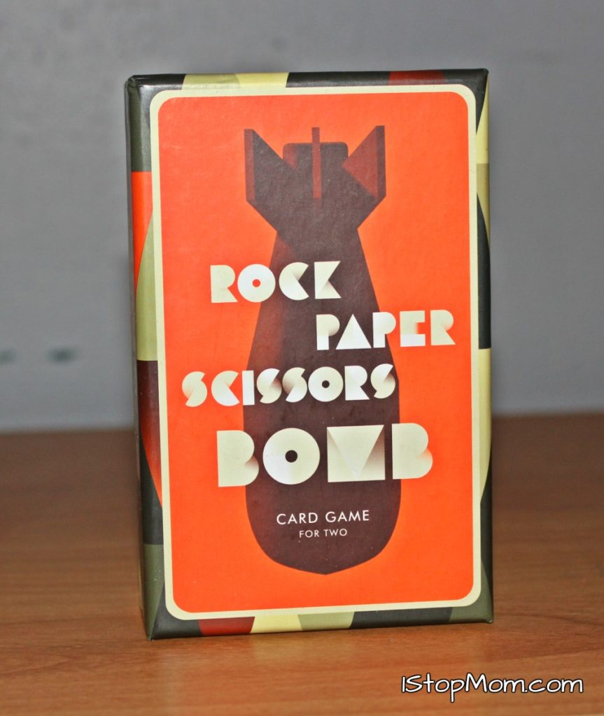 1stopmom Rock Paper Scissors Bomb Card Game Review And Giveaway