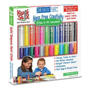 Painting With No Mess Is Possible With The Thin Stix Creativity Pack