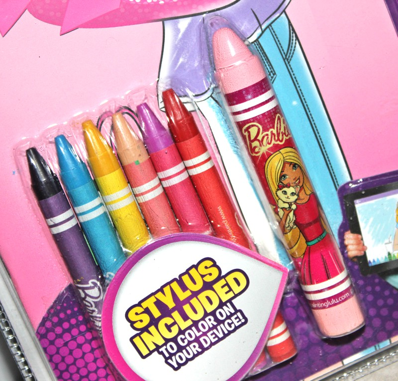 barbie coloring book 1