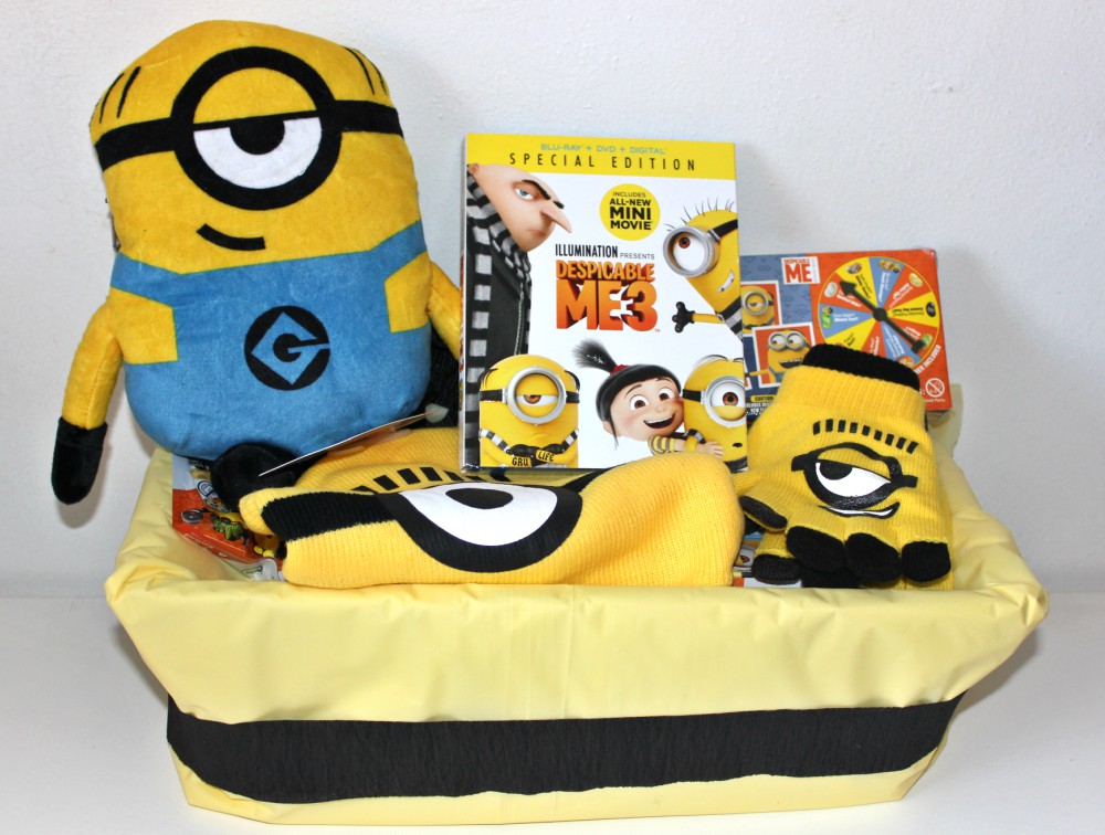 despicable me 3 gift basket