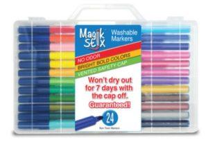 Magik Stix 24pk- Washable Markers Giveaway