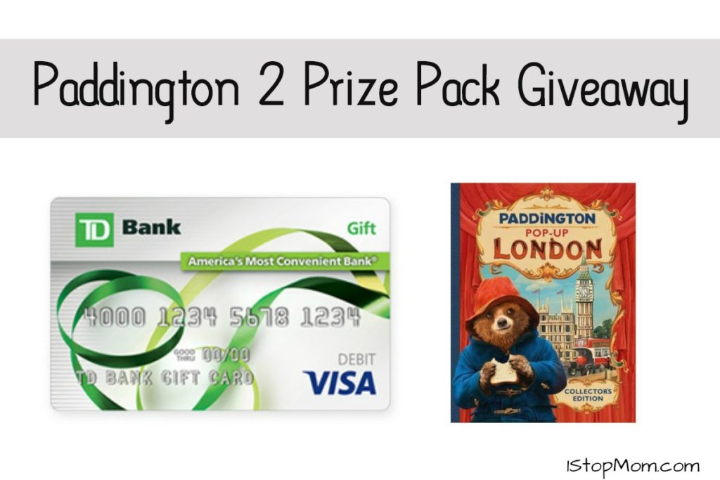 paddington 2 givEAWAY