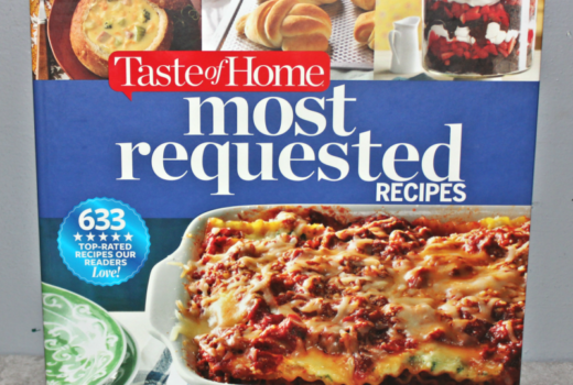 taste of home most requested cookbook review