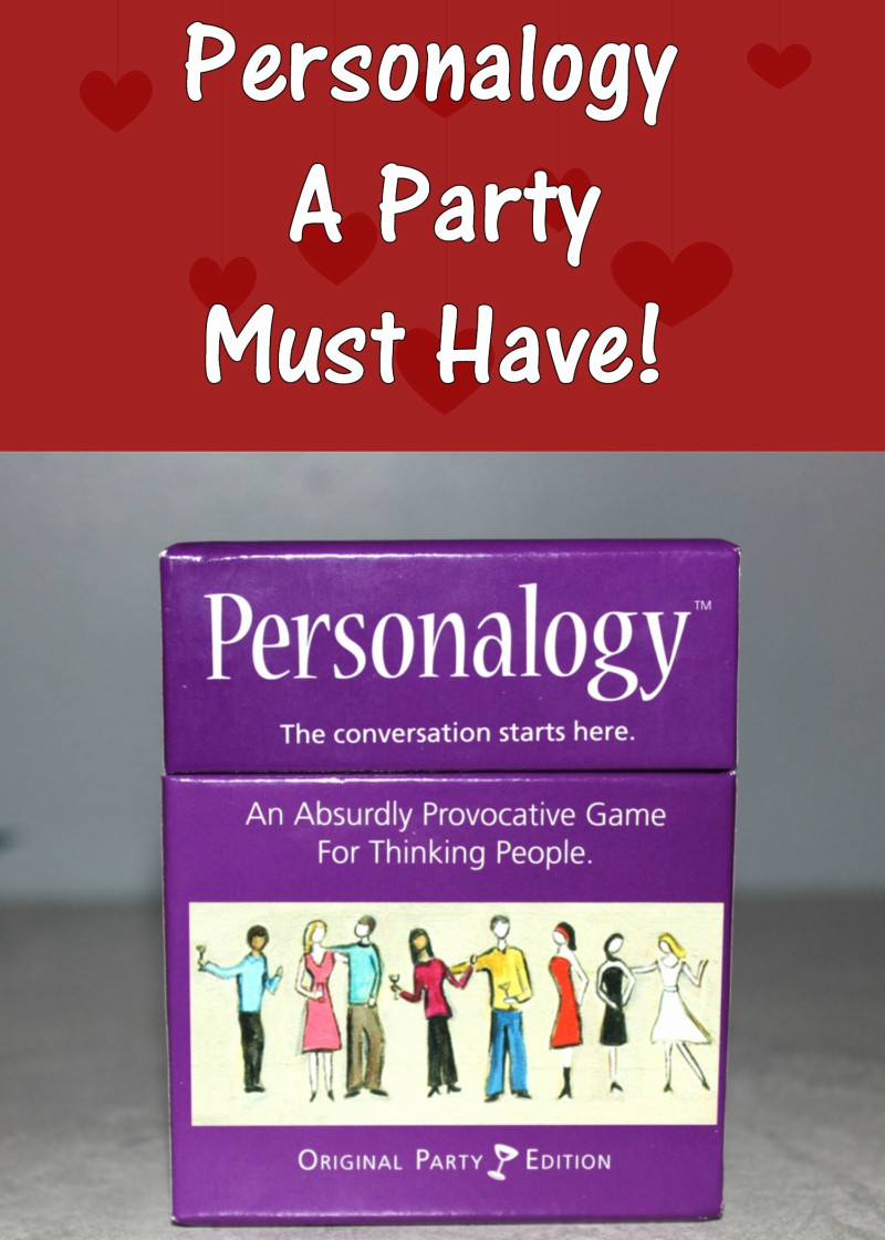 Personalogy party game