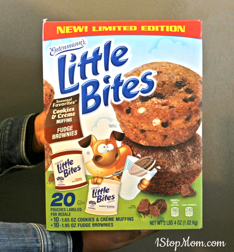little bites cookies and cream muffins
