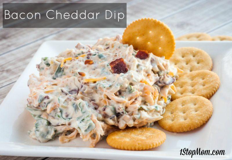 easy bacon cheddar dip