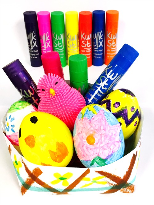 How to Decorate Easter Eggs without Paint