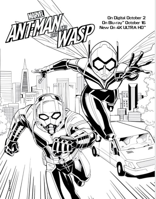 Ant Man Coloring Pages - Best Coloring Pages For Kids | 656x514
